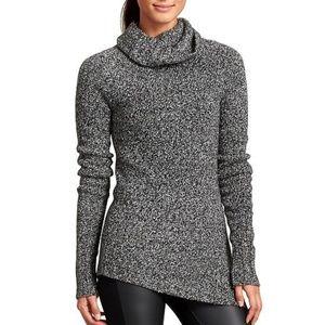 Athleta Brindle Assemetrycal Sweater Size L
